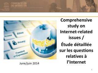 Comprehensive study on Internet-related issues /