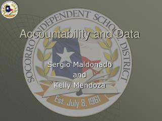 Accountability and Data