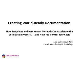 Creating World-Ready Documentation