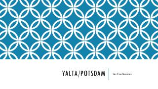 Yalta/Potsdam