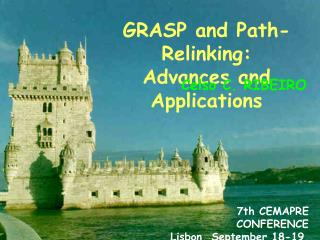 GRASP  and  Path-Relinking : Advances and Applications