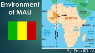 Environment of MALI