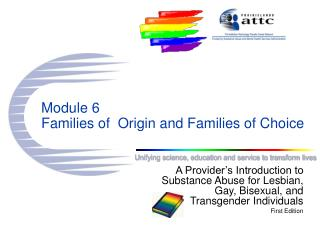 Module 6 Families of  Origin and Families of Choice