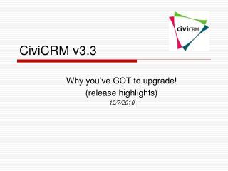CiviCRM v3.3
