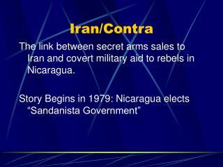 Iran/Contra