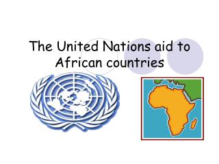 The United Nations aid to African countries