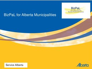 BizPaL for Alberta Municipalities