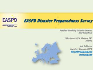 EASPD Disaster Preparedness Survey