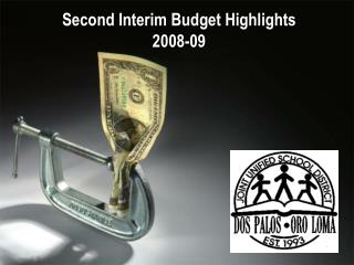 Second Interim Budget Highlights 2008-09
