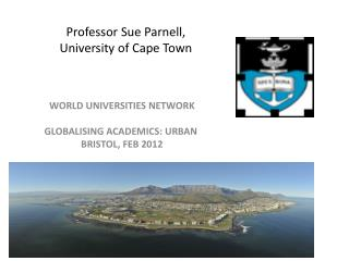 Professor Sue Parnell, University of Cape Town