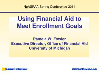 NeASFAA Spring Conference 2014