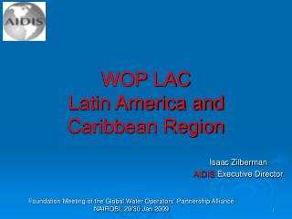 WOP LAC  Latin America and Caribbean Region