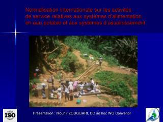 Présentation : Mounir ZOUGGARI, DC ad hoc WG Convenor