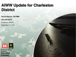 AIWW Update for Charleston District