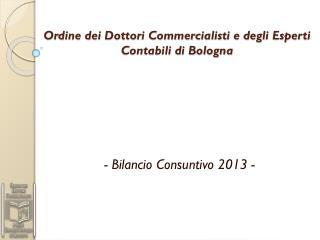 Ordine dei Dottori Commercialisti e degli Esperti Contabili di Bologna