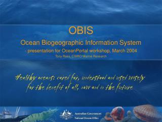 OBIS Concept