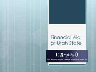 Financial Aid at Utah State