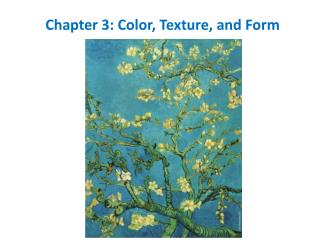 Chapter 3: Color, Texture, and Form