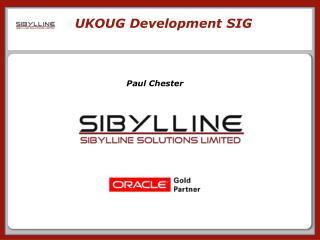 UKOUG Development SIG