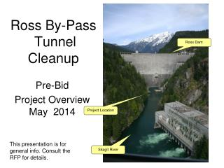 Ross By-Pass  Tunnel Cleanup