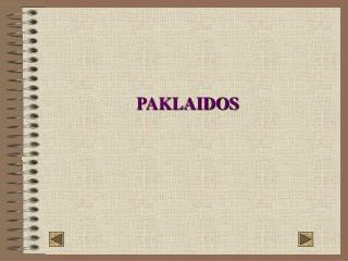 PAKLAIDOS