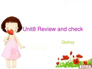 Unit8 Review and check
