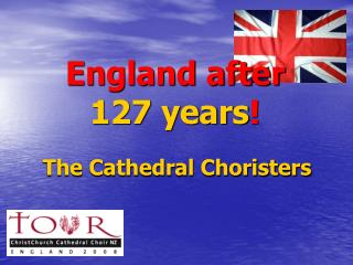 England after  127 years !