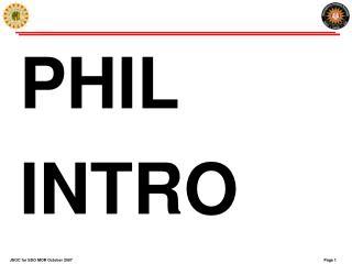 PHIL INTRO