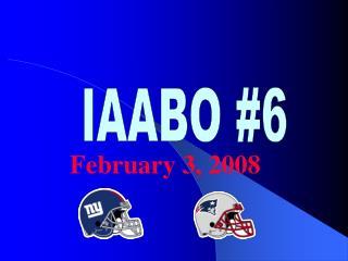 February 3, 2008