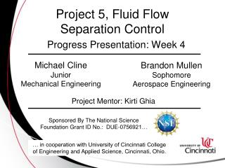 Project 5, Fluid Flow Separation Control