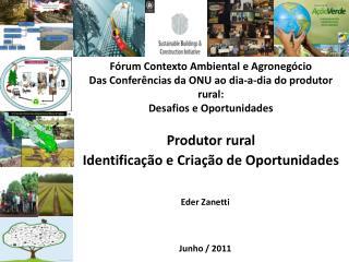 Produtor rural   Identificação e Criação de Oportunidades