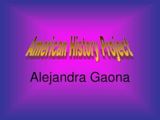 Alejandra Gaona
