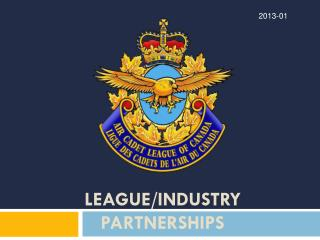 League/Industry Partnerships