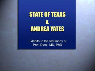 STATE OF TEXAS  v.  ANDREA YATES