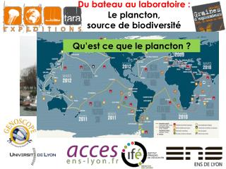 Du bateau au laboratoire : Le plancton,  source de biodiversité