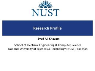 Research Profile