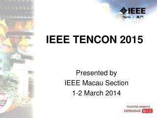 IEEE TENCON 2015