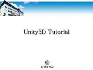 Unity3D Tutorial