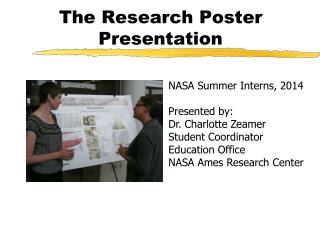 The Research Poster Presentation