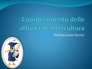 Coordinamento delle attività di intercultura
