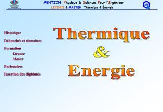 Thermique & Energie