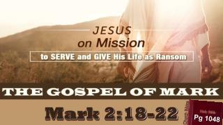 Mark 2:18-22