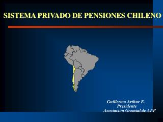 SISTEMA PRIVADO DE PENSIONES CHILENO