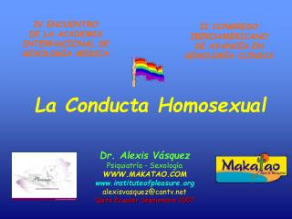 IV ENCUENTRO  DE LA ACADEMIA INTERNACIONAL DE SEXOLOGÍA MEDICA
