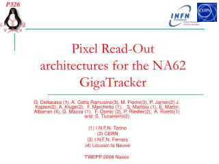 Pixel Read-Out architectures for the NA62 GigaTracker
