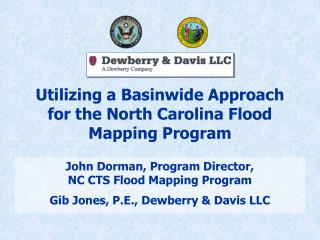 Utilizing a Basinwide Approach for the North Carolina Flood Mapping Program