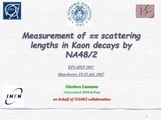 Measurement of  pp  scattering lengths in Kaon decays by NA48/2