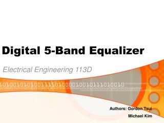 Digital 5-Band Equalizer