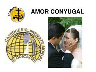 AMOR CONYUGAL