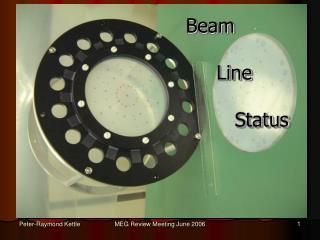 Beam       Line         Status